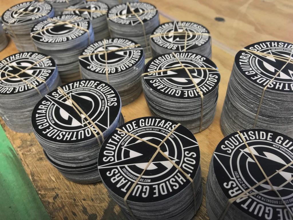 Vinyl stickers visual mechanics inc